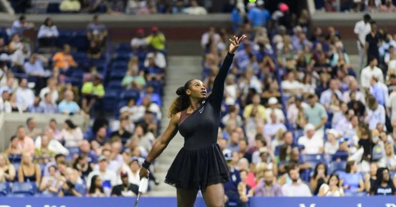Serena Williams Off-White Nike Collection Black