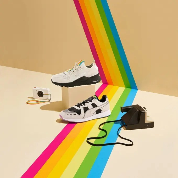 Puma x Polaroid Sneaker