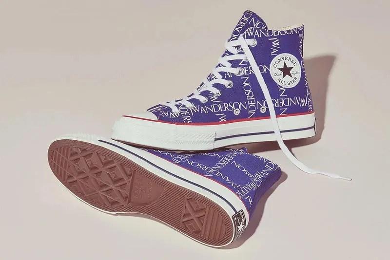 """10/10リリース【JW Anderson x Converse】注目のコラボ """"Twilight Blue"""""""