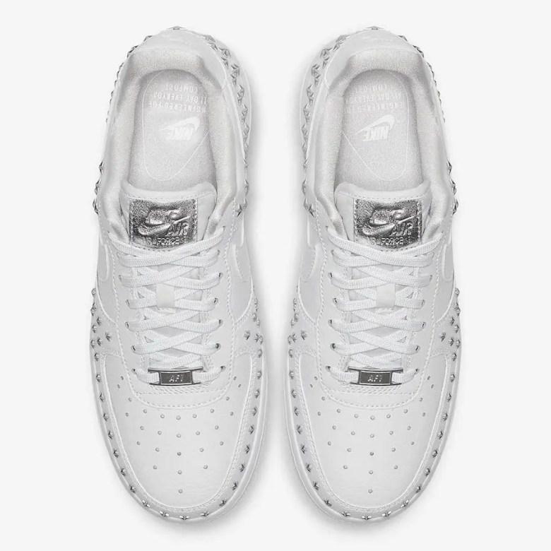 Nike-Air-Force-1-Low-Stars-White-Sivler-AR0639-100-3