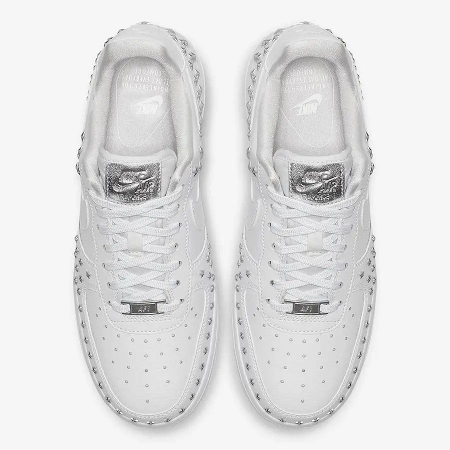 Nike-Air-Force-1-Low-Stars-White-Sivler-AR0639-100-3
