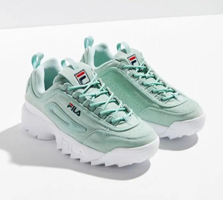 FILA Disruptor II Pastel Sneaker