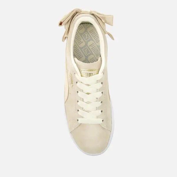 Puma Women's Suede Bow Varsity Trainers-04