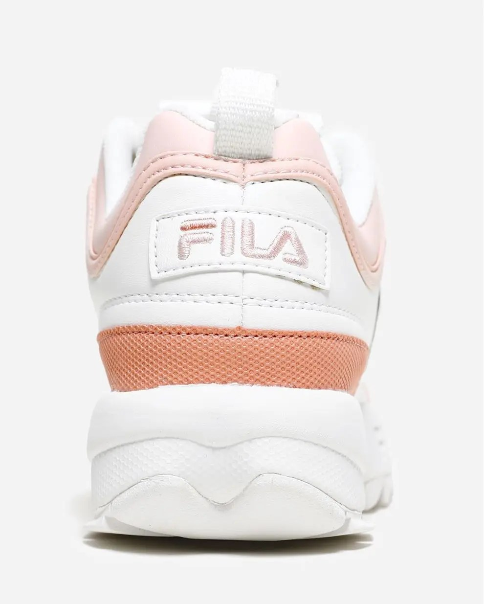 FILA Disruptor CB Low Marshmallow Salmon-3