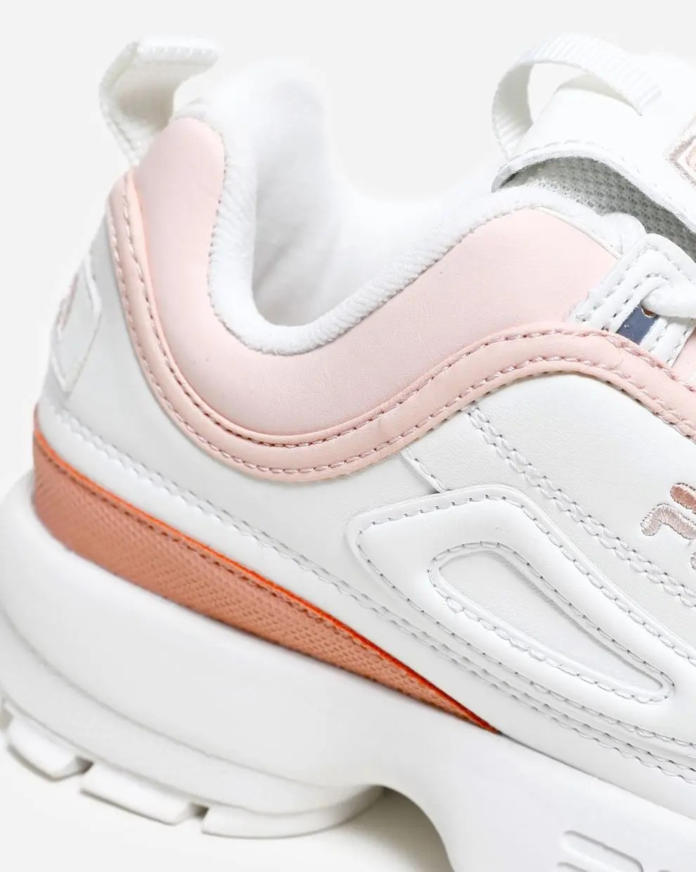 FILA Disruptor CB Low Marshmallow Salmon-4