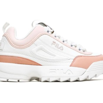 FILA Disruptor CB Low Marshmallow Salmon