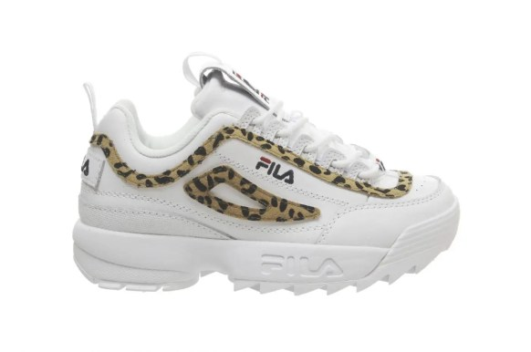 FILA Disruptor Leopard Detailing White