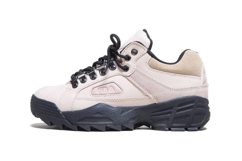 FILA's Trailruptor Is the Chunky Sneaker Hybrid You Need