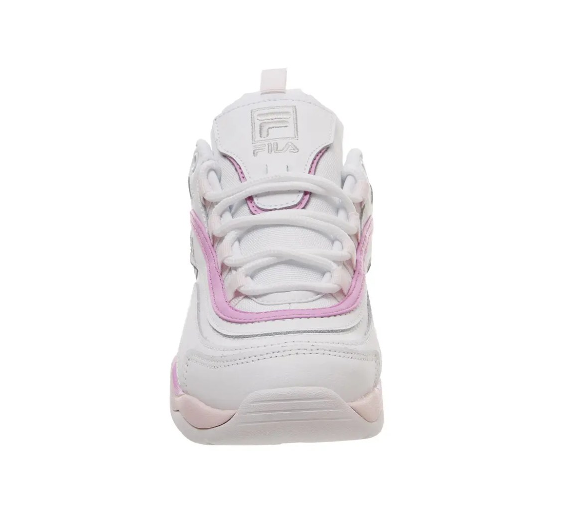 fila ray trainers White Heavenly Pink Purple Exclusive02