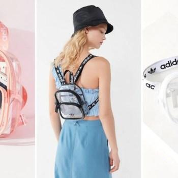 adidas originals clear bag