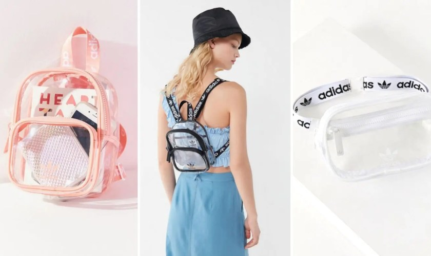 adidas originals clear bag
