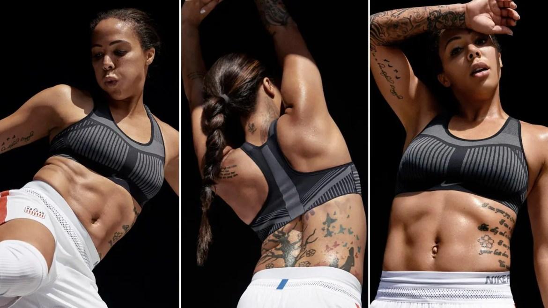 Nike Women's High Support Sports Bra Nike FE NOM Flyknit-19