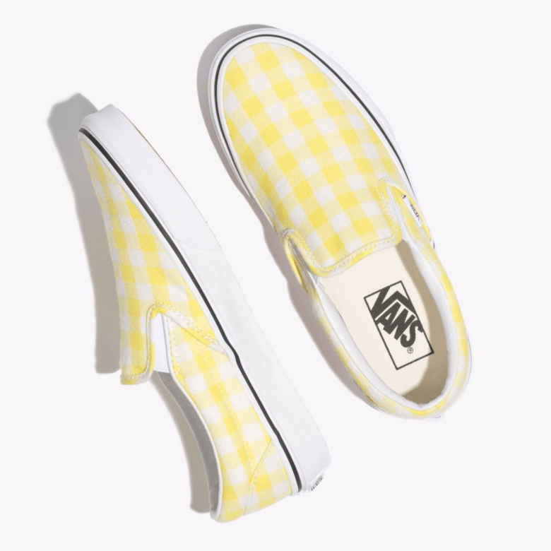 Vans GINGHAM SLIP-ON-11