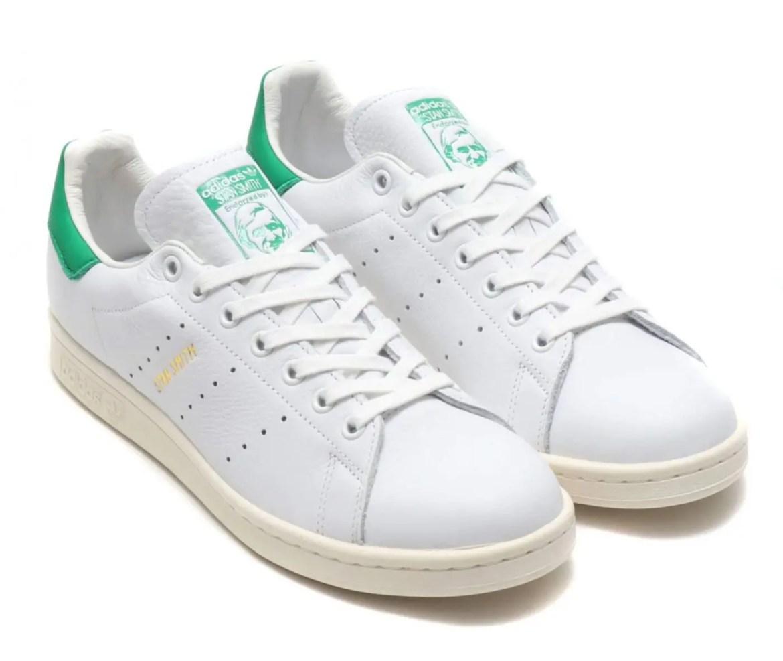 adidas Originals STAN SMITH FOREVER RUNNING WHITE RUNNING WHITE GREEN 19SS-S-01