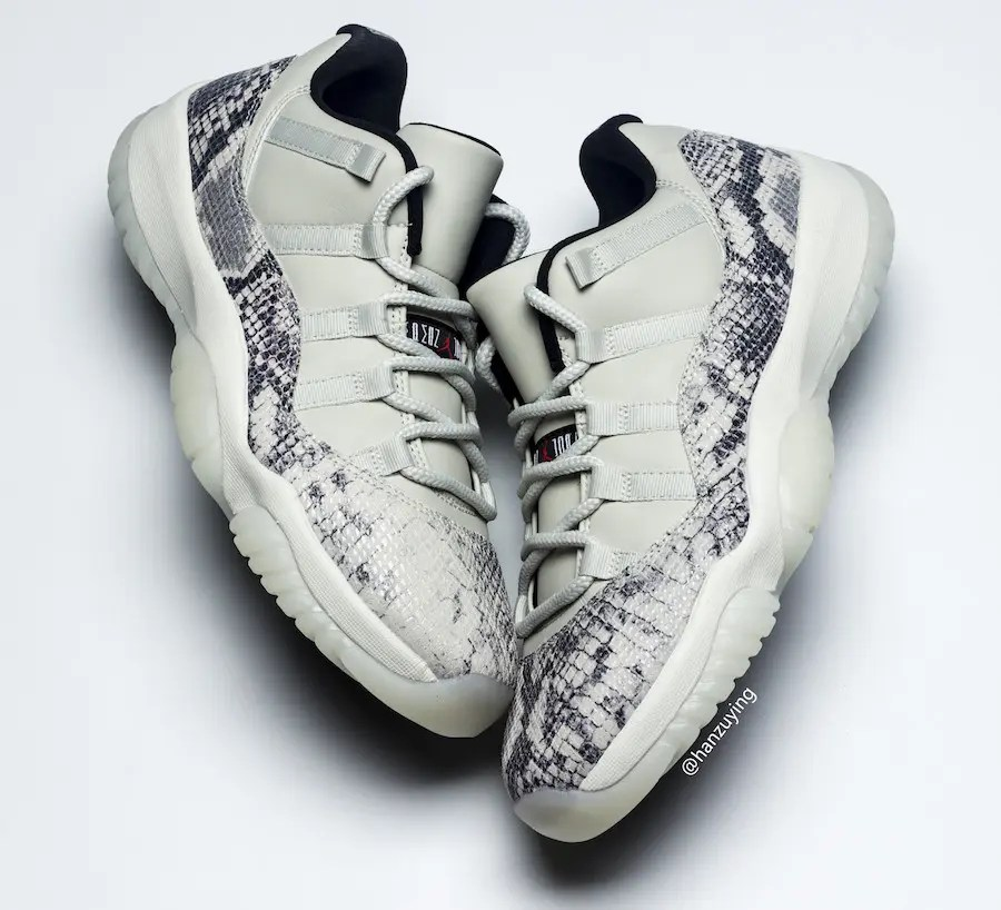 Air-Jordan-11-Low-Snakeskin-Light-Bone-CD6846-002-2019-Release-Date