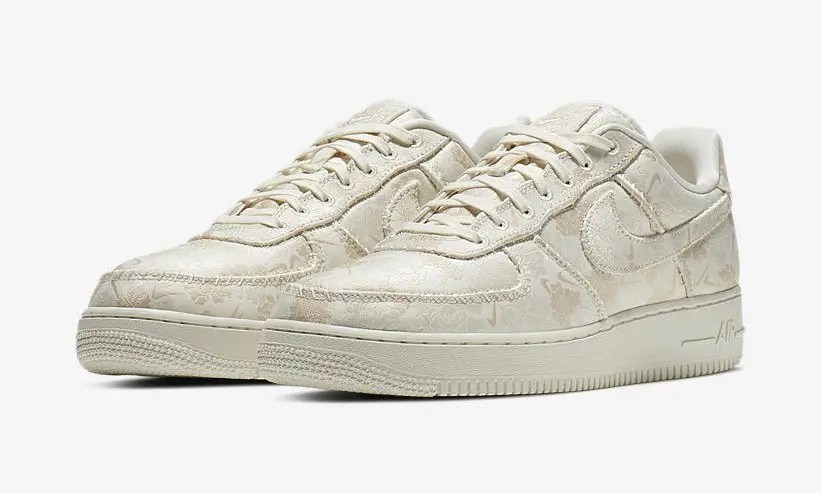 NIKE AIR FORCE 1 07 LOW PREMIUM 3 Pale Ivory Sail AT4144-100-01