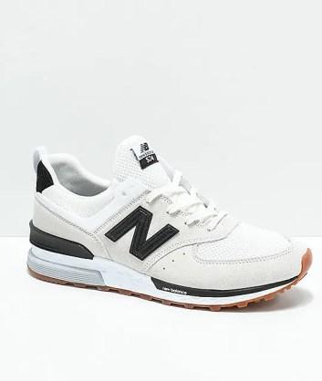 New Balance 574 White-01