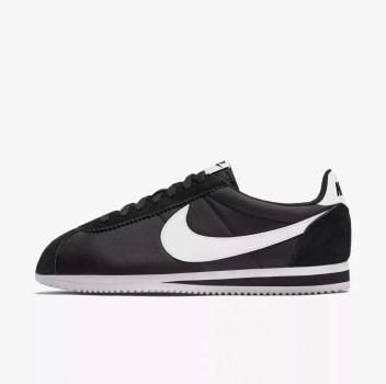 Nike Classic CORTEZ Black and White-01