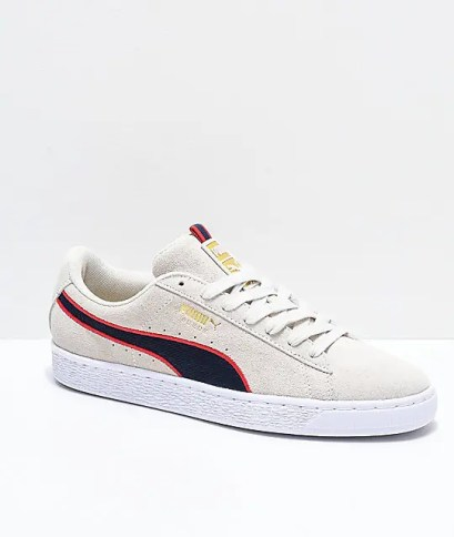 PUMA-Suede-Classic-Sport-Stripes-White-&-Red-Shoes--_296515-front-US