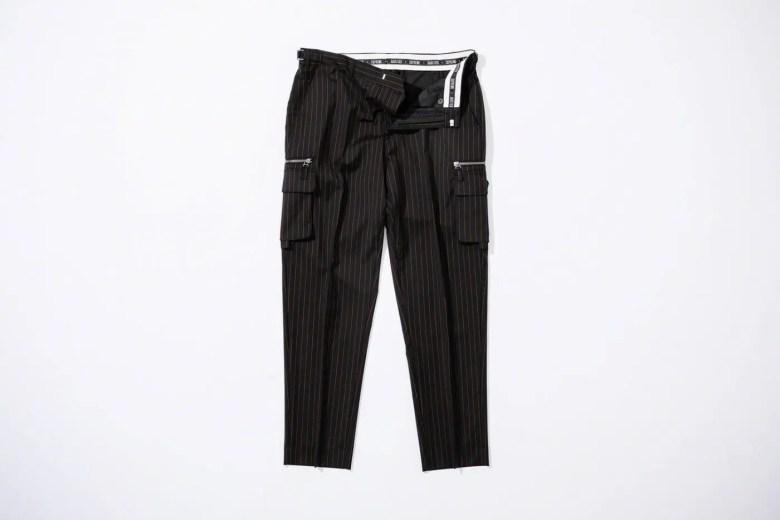 Supreme Week 7 Jean Paul Gaultier Pinstripe Cargo Suit Pant
