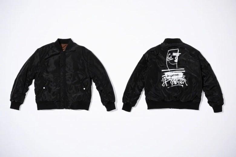 Supreme Week7 Jean Paul Gaultier Reversible Backpack MA-1-01