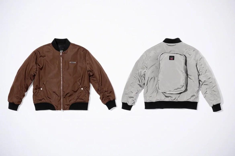 Supreme Week7 Jean Paul Gaultier Reversible Backpack MA-1