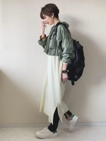 WEAR - MISATO adidas Stan Smith White Green