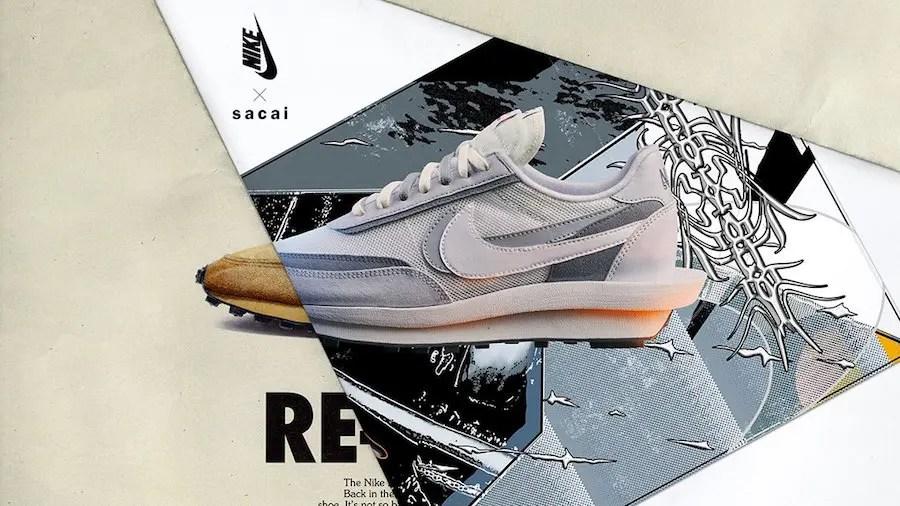 sacai-Nike-LDWaffle-Grey-Release-Date