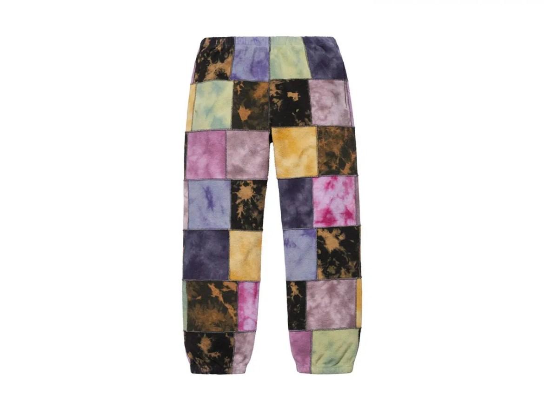 supreme-2019ss-week14-release_Patchwork Tie Dye Sweatpant