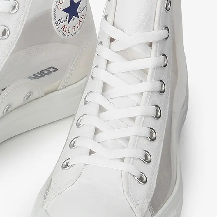 Converse All Star Light Clear Material Hi White 4