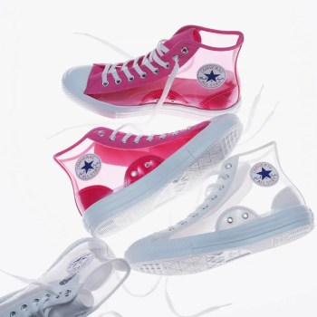 Converse All Star Light Clear Material Hi