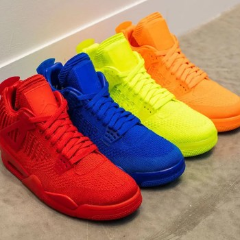 NIKE-AIR-JORDAN-4-FLYKNIT-COLLECTION-4COLORS