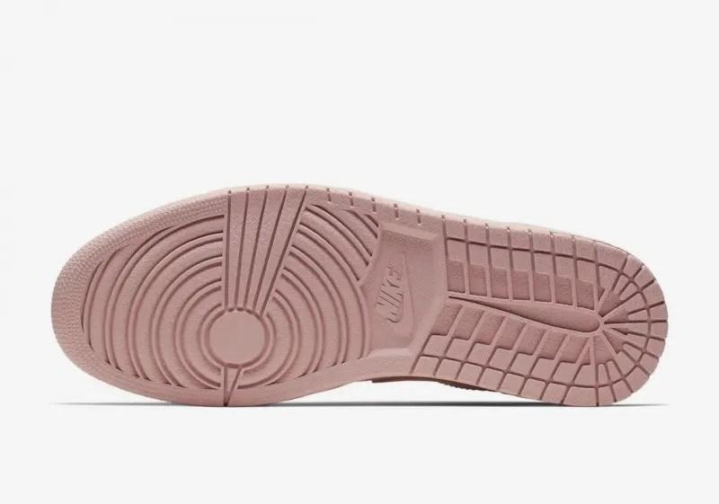 Nike-air-jordan-1-low-coral-gold-sole