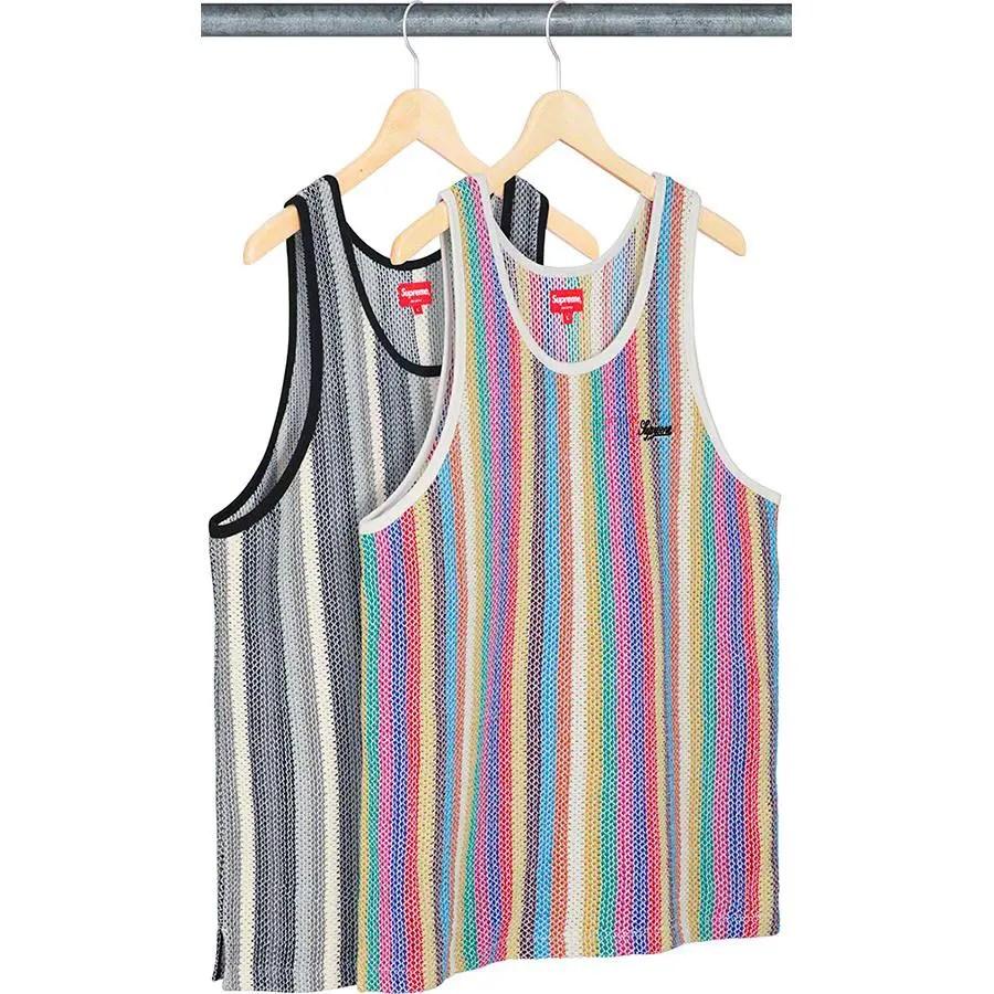 supreme-week-18-Knit Stripe Tank Top
