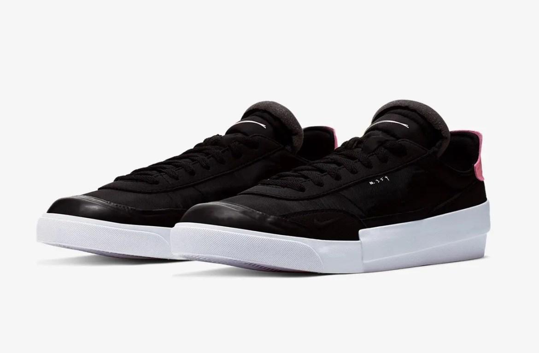 Nike Drop Type LX BLACK PINK TINT AV6697-001-02