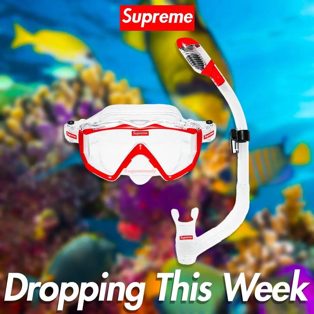 Supreme Supreme Cressi Snorkel Set-02