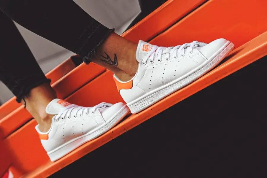 adidas originals stan smith orange EE5863-01
