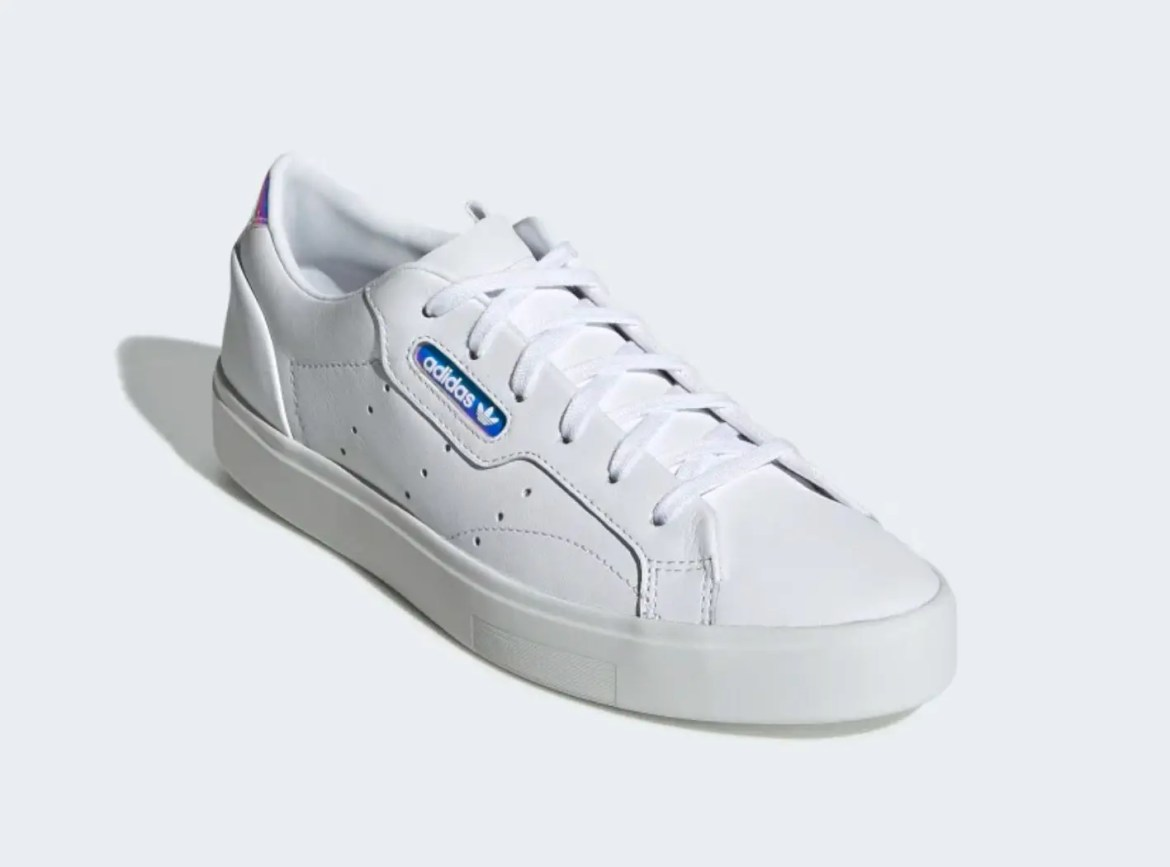 adidas sleek shoes Cloud White Crystal White Core Black EG2685-03