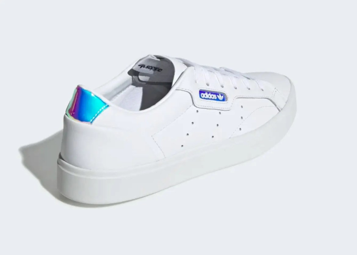 adidas sleek shoes Cloud White Crystal White Core Black EG2685-04