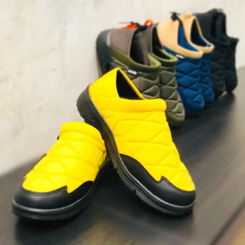 2020年の秋冬新作!ワークマンの防寒トレッドモックシューズ2020 (workman_moc_shoes_2020_56361_yellow_front