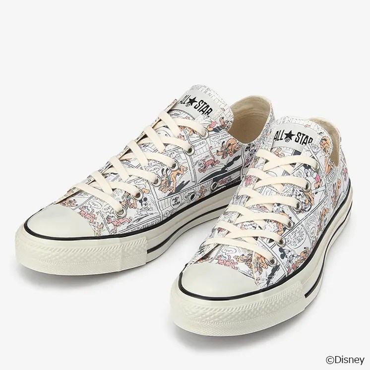 CONVERSE DISNEY ALL STAR MICKEY MOUSE LOCALIZE OX-03
