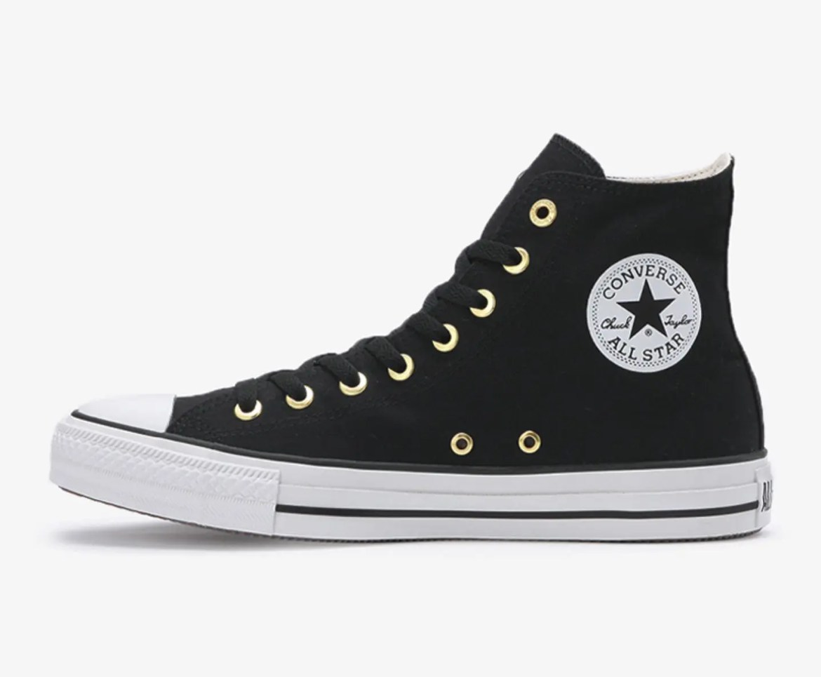 Converse ALL STAR WEARABLE STICKER HI BLACK-06