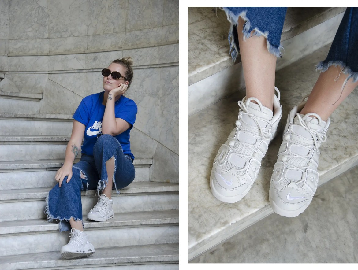 GirlOnKicks_Uptempo_AllWhite_Denim_Blue