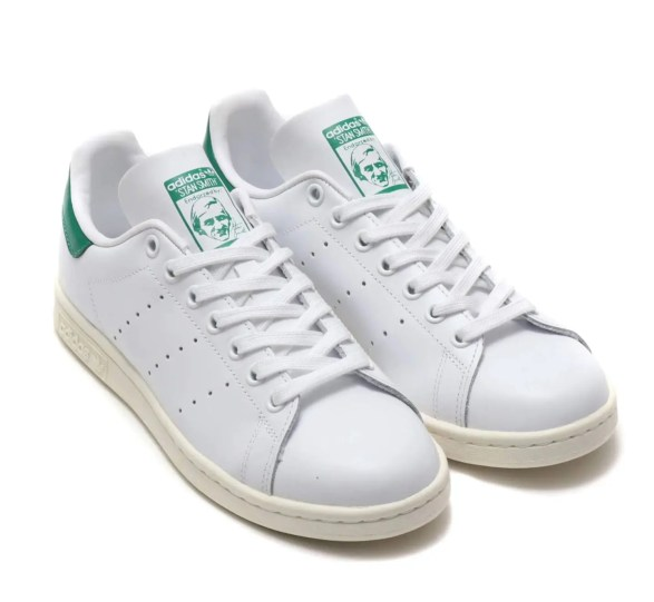 adidas Originals STAN SMITH RUNNING WHITE OFF WHITE BOLD GREEN 19SS-I