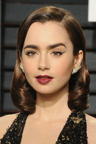 red lip makeup 2019 fall Graphic Liner getty images-01