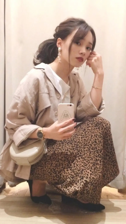 2019年秋冬「カフェラテ配色」コーデ特集