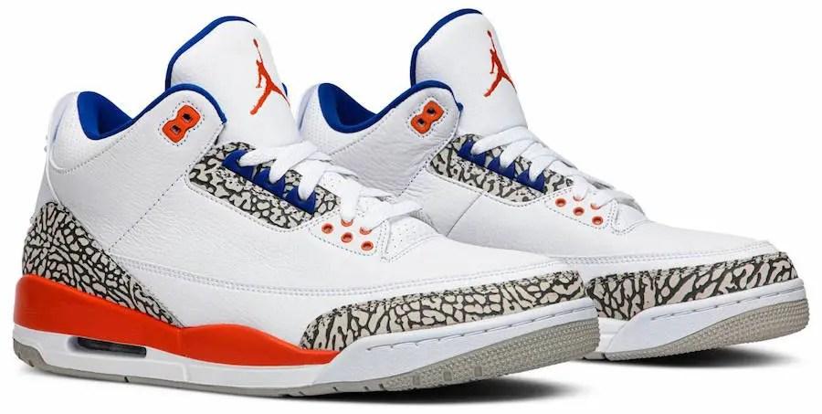"""ナイキ エア ジョーダン 3 """"ニックス"""" (Nike Air Jordan 3 """"Knicks"""")"""