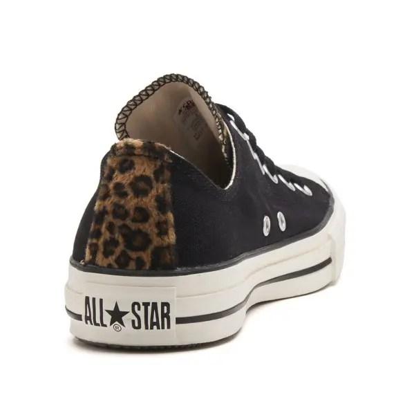 コンバース オールスター LD OX ブラック (Converse All Star LD OX Black)