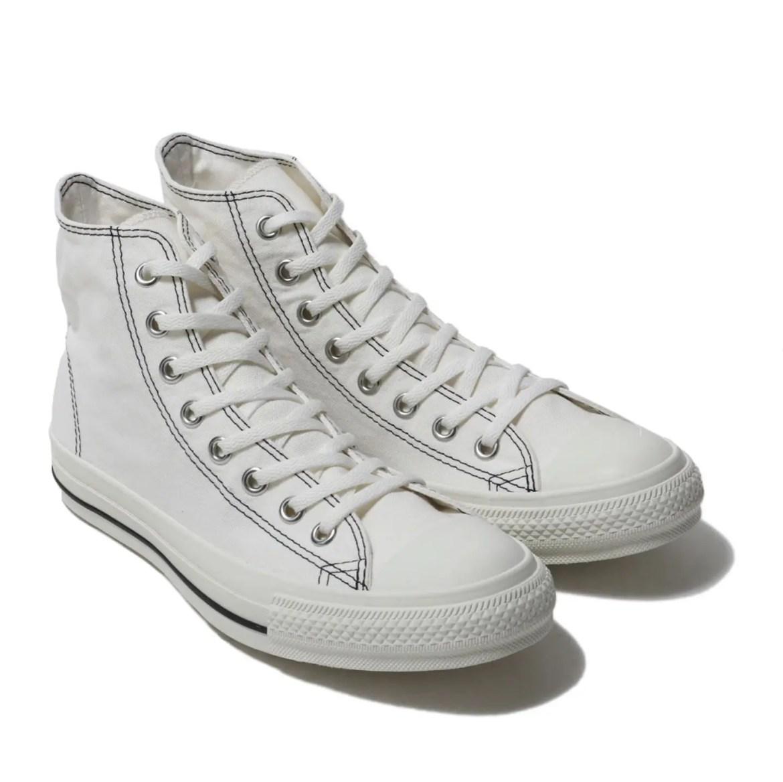 Converse All Star Stitching Hi White 19HO-I (コンバース オール スター ステッチング ハイ ホワイト 19HO-I)