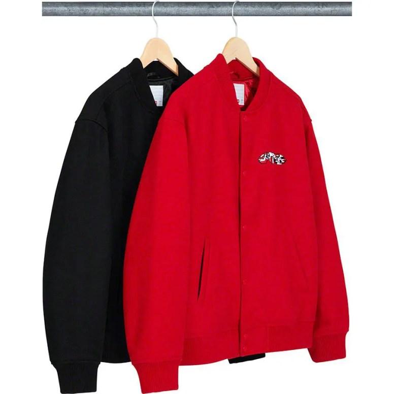 Delta Logo Varsity Jacket (via Supreme NYC) シュプリーム 新作 2019年 秋冬 19fw Week 4